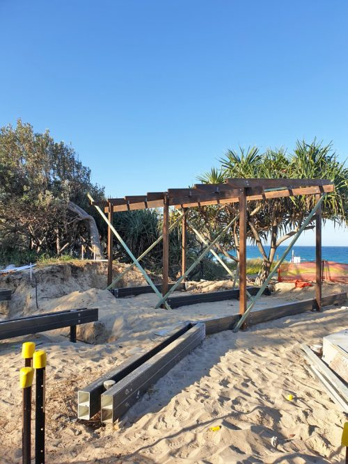 Viewing Shelter & Boardwalk at Beach Access 239 (Wyanda Park) Bokarina